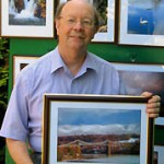 Picture framing by Tony Griffiths Photographer displaying a recent framed photograph